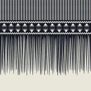Sawgrass Single Fringe Border Gray