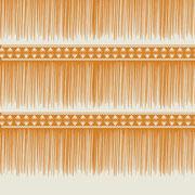Sawgrass Fringe Stripe mustard