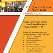 Christians in Action Trade Show Tampa Florida 2013