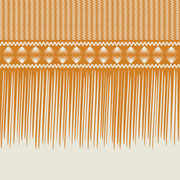 Sawgrass Single Fringe Border mustard
