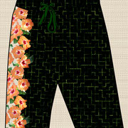 Hibiscus Tiles men's board shorts