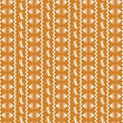 Seminole Motif Ric Rac Dragonfly Stripe mustard
