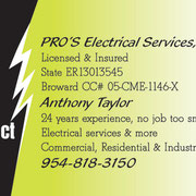 Pro's Electrical Services