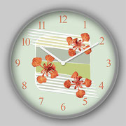 Royal Poinciana Clock