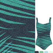 Areca Palm: Super size color dodge