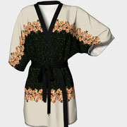 Hibiscus Tiles kimono robe available for purchase at Art of Where