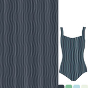 Areca Palm: Scroll brush wavy lines