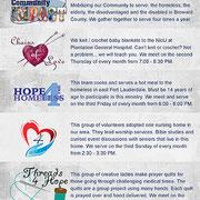 Outreach Calendar Card page 2