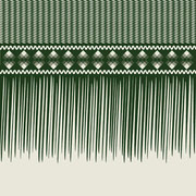 Sawgrass Single Fringe Border forest green