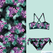Bismarck Palm Orchids: daughter bikini in all over print