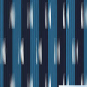 Frangipani stripe with scroll brush