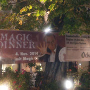 Magic Dinner Show Heilbronn muss man gesehen haben und ist ein Highlight erleben