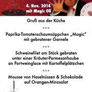 Feinste Speisen und Magie auf höchsten Niveau  in Heilbronn, Karlsruhe, Pforzheim, Heidelberg, Baden Baden,