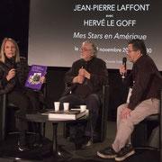 Jean-Pierre Laffont et son épouse « Mes Stars en Amérique »animé par Hervé Le Goff. Photo © Charlie Abad