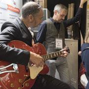 Le président de la FFPMI connait la musique... Photo © Charlie Abad