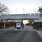 Ost Eingang Etosha NP