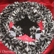 Комплект Варежки+шарф=1800руб.