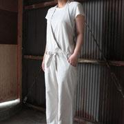 身長150cm ぽちゃなWATASHI:パールベージュ着用
