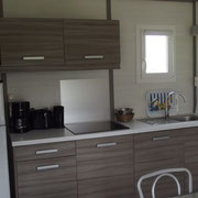 lot et bastides  chalets sleeps 4 kitchen