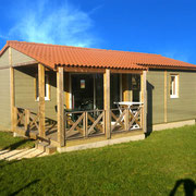 lot et bastides  chalets sleeps 4 terrace