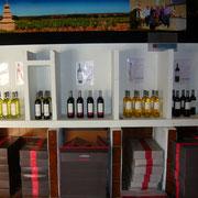 caveau de dégustation gite Pays Cathare Gites de France dans l'Aude à Fleury d'Aude dans l'Aude
