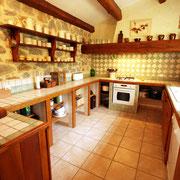 gite Pays Cathare Gites de France dans l'Aude  à Embres et Castelmaure, cuisine