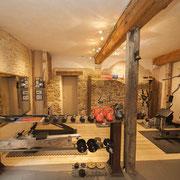 salle de sport gite Pays Cathare Gites de France dans l'Aude à castelnaudary