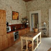 cuisine gite pays cathare dans l'Aude label gites de france à Pouzols minervois