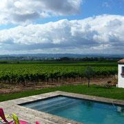 piscine gite Pays Cathare Gites de France dans l'Aude à Pennautier en Cabardes