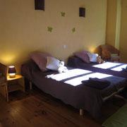 chambre gite pays cathare dans l'Aude à Rouffiac des corbières , labelisé Gites de france