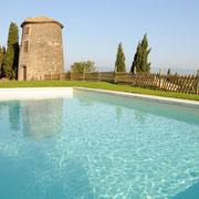 piscine gite Pays Cathare Gites de France dans l'Aude à Montbrun des Corbieres