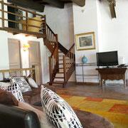 salon gite Pays Cathare Gites de France dans l'Aude à Narbonne à proximité de la mer