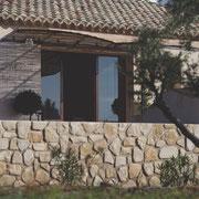 terrasse ensoleillée Gite  Pays cathare Gites de France à Argeliers dans l'Aude