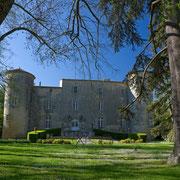 chateau gite pays cathare Clevacances à Plaigne Château la Commanderie dans l'Aude