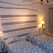 chambre gite Pays Cathare Gites de France dans l'Aude à Narbonne à proximité de la mer