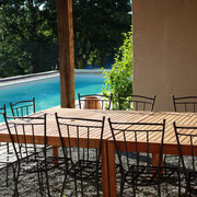 piscine gite pays cathare dans l'Aude à Pouzols minervois avec piscine