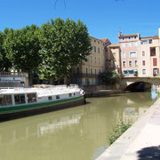 canal de la robine à Narbonne