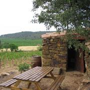 cabanon dans les vignes gite Pays Cathare Gites de France à Boutanac dans l'Aude