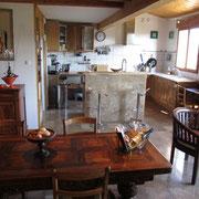 cuisine du gite Gites de France à Bouriège dans l'Aude