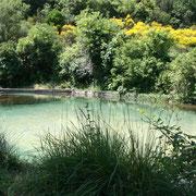 baignade naturelle  à proximité gite dans l'Aude label pays cathare gites de france à Quintillan