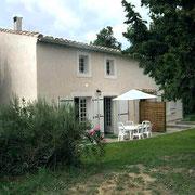 jardin gite Pays Cathare Gites de France dans l'Aude