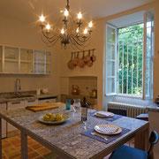 cuisine gite pays cathare Clevacances à Plaigne Château la Commanderie dans l'Aude