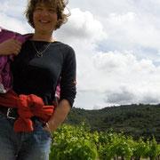 vigneronne gite pays cathare dans l'Aude à Pouzols minervois avec piscine