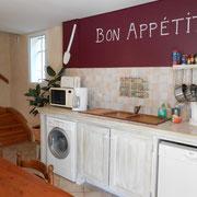 cuisine gite Pays Cathare Gites de France dans l'Aude à Mailhac en Minervois
