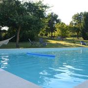 gîte  pays cathare En Payan à Saint-Martin-Lalande 3 épis gites de france la piscine