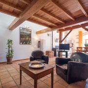 Gites Pays Cathare loubatous à Castelnaudary partie salon