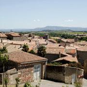vus sur le village gite gite Pays Cathare Gites de France dans l'Aude à Caunes Minervois