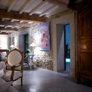 salon gite Pays cathare label Gites de France à Pouzols Minervois dans l'Aude