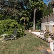 Gites Pays Cathare loubatous à Castelnaudary jardin