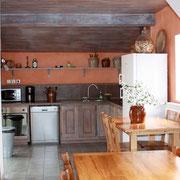 cuisine Gite Pays Cathare Gites de France dans l'Aude à Montlaur en Carcassonnais n 1969